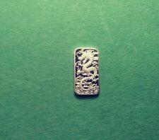 Silver Dragon .999 Fine Silver Bar One Gram Design 2