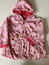 Oilily Ruffle Rain Jacket Girls Size 3