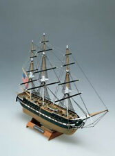 """Historic, Mini Wooden Model Ship Kit by Mamoli: the """"USS Constitution"""""""
