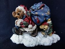 "Boyds Bears "" Lil' Helper "" Northstar & Emmett - Bearstone Collection Figurine"