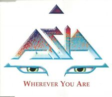 Asia - Wherever You Are 2000 2 track promotional CD single