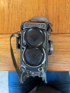 Rolleiflex 4x4 Baby Grey camera