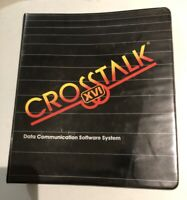 RARE Vintage Crosstalk XVI Data Communication Software System Microstuf Inc.