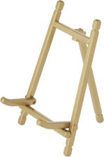 """Bard's Satin Gold-toned Metal Easel, 5"""" H x 3"""" W x 3"""" D (Pack of 3)"""