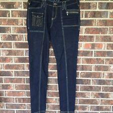 COOGI Womens Jeans Size 9/10 Straight Leg With Zipper Pockets