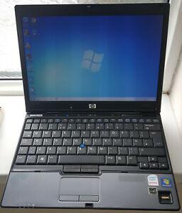 """HP 2510p Notebook Laptop 12.1"""" 1GB 60GB ZIF Windows 7 Battery Open Office Wi-Fi"""