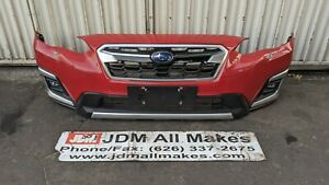 2018-2020 Subaru XV CROSSTREK  Front Bumper Cover With Grill & Fogs OEM