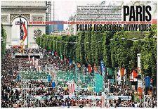 Coupure de presse Clipping 2005 (12 pages) Paris candidate aux JO 2012