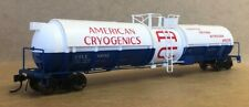 Broadway Limited ~ New 2019 ~ Ho Scale American Cryogenics Tank Car ~ 6160