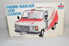 ESCI KIT 3054 FORD FOURGON VAN CANON PARIS-DAKAR NMIB RARE