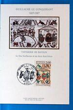 William the conqueror France CPA postcard maximum yt 2492 c