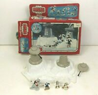 Star Wars 1982 Micro Collection Hoth Turret Defense Action Playset With Box