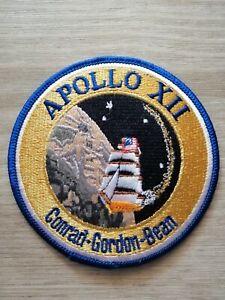 Aufnäher  Patch NASA  Raumfahrt APOLLO XII Mission Conrad - Gordon - Bean