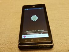 Motorola Droid 3 - 16GB - Black (Verizon) Smartphone Powers on AS IS PARTS