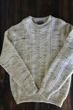 Pendleton 100% wool pullover sweater cream colored size XL