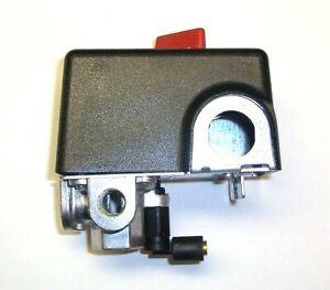 CW218800AV CAMPBELL HAUSFELD PRESSURE SWITCH 120 PSI ON 155 PSI OFF 4 PORT