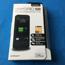 NEW Incipio IPH-885 offGRID Pro iPhone 5/5S 3X LIFE + 2 Removable Batteries Case