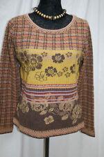 Langarm Damen-Pullover & -Strickware aus Wolle Größe 42