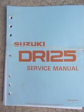 1990 Suzuki GN125 Motorcycle Service Manual Maintenance Repair Tune Up Bike  T