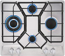 "New listing Empava 24"" Stainless 4 Italy Sabaf Burners Stove Top Gas Cooktop Empv-24Gc4B67A"