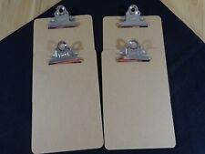 Staples Butterfly Clipboard 6x9 Hardboard Set Of 4 Fits Memo Size Sheets