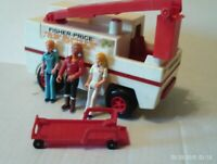 FISHER PRICE 303 EMERGENCY RESCUE TRUCK  ADVENTURE PEOPLE  1974