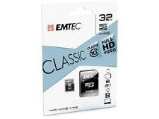 32 GB Micro SDHC Speicherkarte mit SD-Adapter Emtec Classic Class 10 Full HD