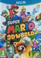 SUPER MARIO 3D WORLD Nintendo Wii U WiiU Video Game UK Release Brand New Sealed