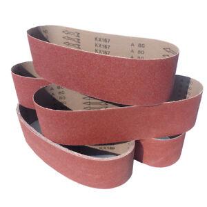 Schleifbänder 100 x 915mm Schleifband Gewebebänder Bandschleifer Körnung wählbar