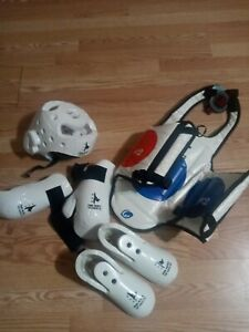Min hur Kids M Tae Kwon Do sparring gear Full Set