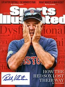 Bobby Valentine Autographed September 2012 Issue of Sports Illustrated Red Sox