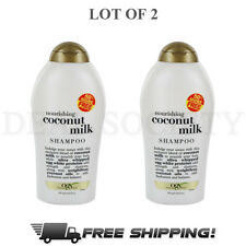 OGX Organix Nourishing Coconut Milk Shampoo 19.5 oz - Lot of 2