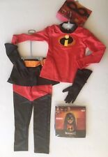 Nwt Disney Store Size 7-8 Pixar The Incredibles Violet Costume & Disguise Wig