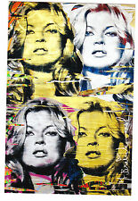 Mr Brainwash Kate Moss Cover Girl Show Promo banksy kaws invader faile pop art