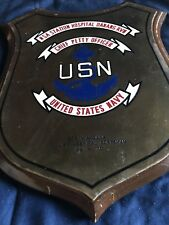 navy plaque