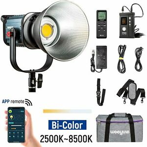 VILTROX Weeylite ninja 400 Bi-Color LED Video Light 2500-8500K Bowens Mount +APP