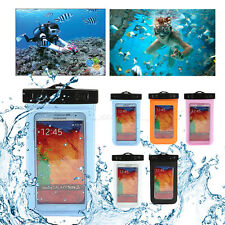 Waterproof Underwater Phone Case Pouch Bag Cover For Samsung S9+ iPhone XS MAX