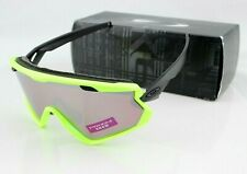 OAKLEY WIND JACKET 2.0 Neon Retina PRIZM Snow Black Iridium Sunglasses OO7072 06