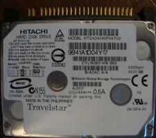 "Hitachi HTC424040F9AT00 DK13FA-40 40.01gb 1.8"" IDE Laptop Drive"