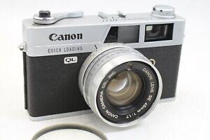 CANON QL17 RF CAMERA, CLAD, SEALS SR. 572973 - FILM TESTED