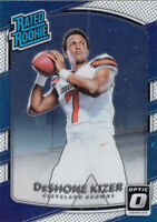 2017 DONRUSS OPTIC RATED ROOKIE CARD #154 DESHONE KIZER BROWNS