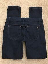 "JOE'S Jeans Women's PROVOCATEUR SKINNY Stretch Low Rise Zip Fly sz 25 28"" W"