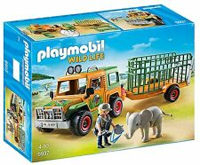 Playmobil Wild Life 6937 Ranger's Truck with Elephant