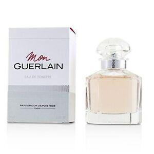 Mon Guerlain 1.6 oz EDT spray womens perfume 50 ml New in Box NIB