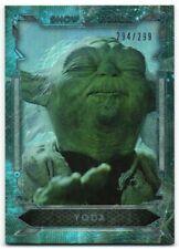 2016 Star Wars Masterwork Show of Force Foil SF-4 Yoda 294/299
