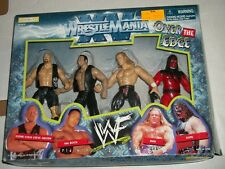Jakks Wrestlemania XV OVER THE EDGE Figure Set Stone Cold Rock HHH KANE