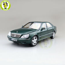1/18 Benz S600 1998 S CLASS W220 Norev Diecast Model Toys Car Boys Gifts Green