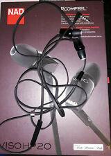 NAD Viso HP 20 Noise reducing Earphones/Earbuds As-Is