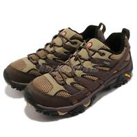 Merrell Moab 2 GTX Gore-Tex Vibram Brown Black Men Outdoors Trail Shoes J12131