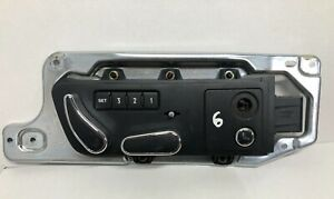 BENTLEY CONTINENTAL GT GTC 2003-11 FRONT RHS SEAT ADJUSTMENT SWITCHES 3W0959766C
